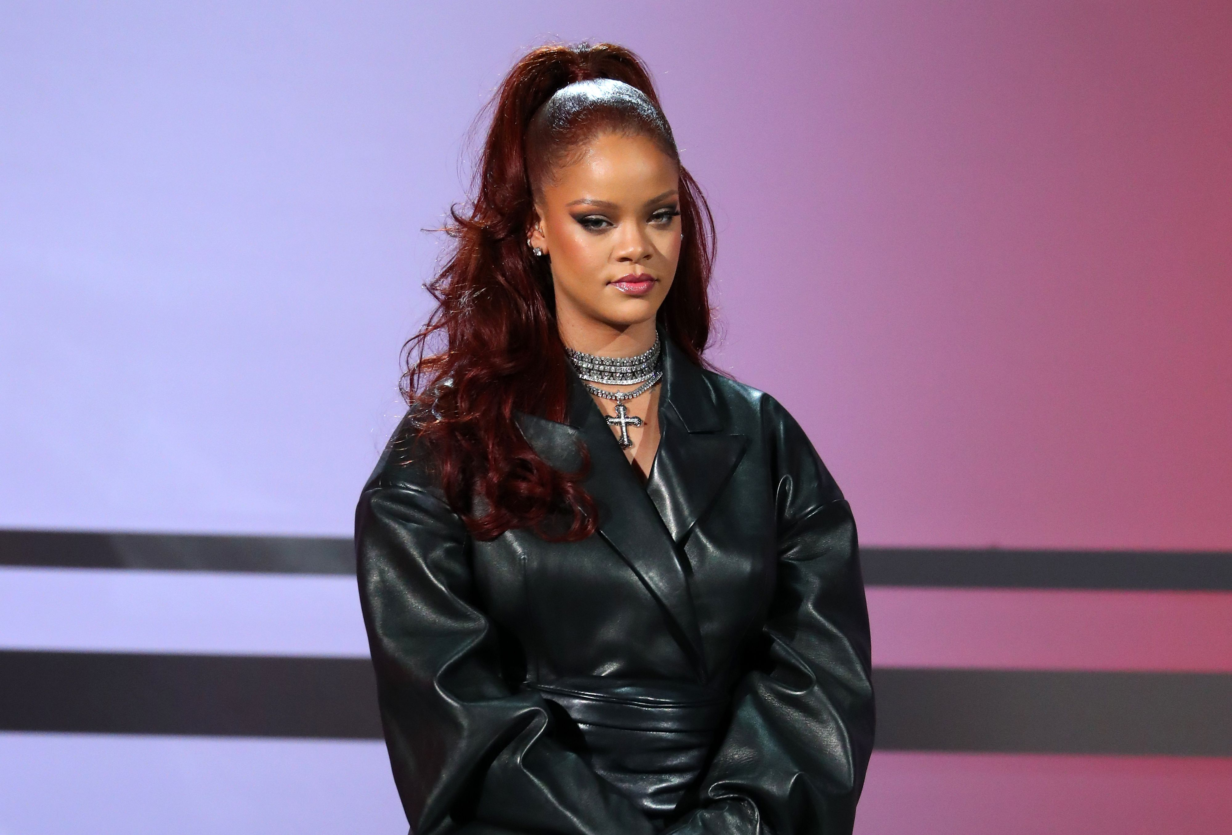 Before #R9: Rihanna's Iconic Leather Outfits