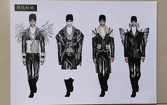 Student Design Competition: Qian Peng brings the beauty of nature to the global male fashion market