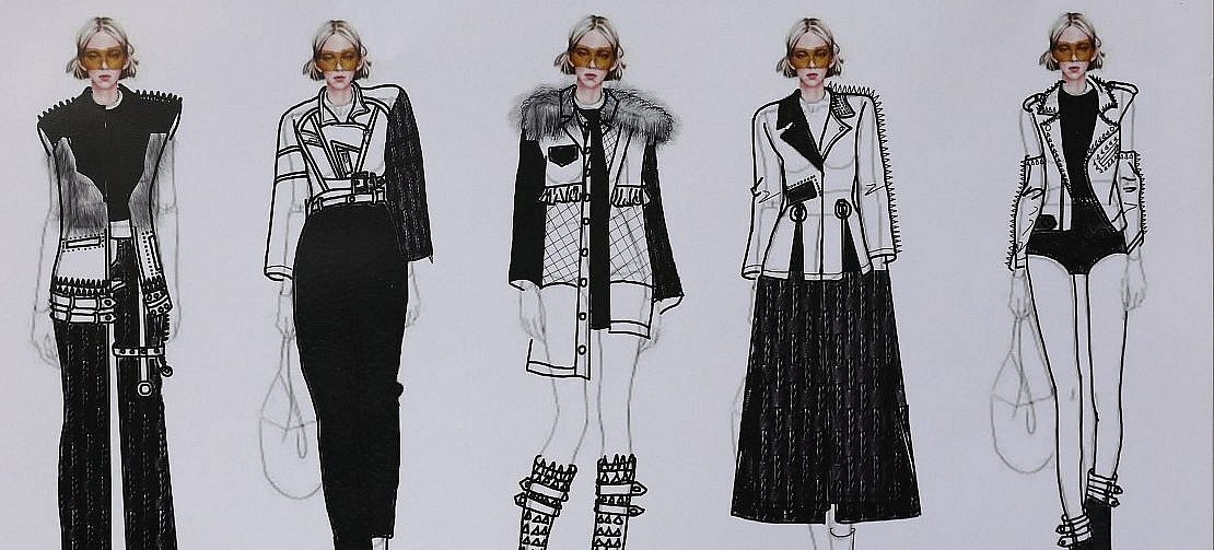 Student Design Competition: Chen Jiayu on the highway to bringing 70's punk back to the runway