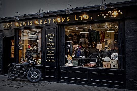 Lewis Leathers – keeping bikers brilliantly stylish since 1892
