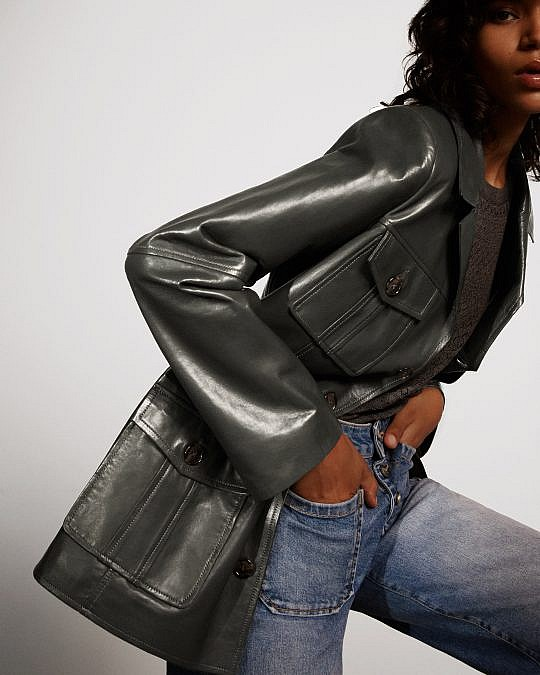 Leather Loves X Nour Hammour: 'The best jacket you'll ever own!'